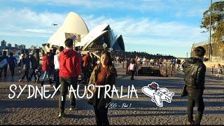 Sydney, Australia Travel VLOG #1 | Almira Cambalon