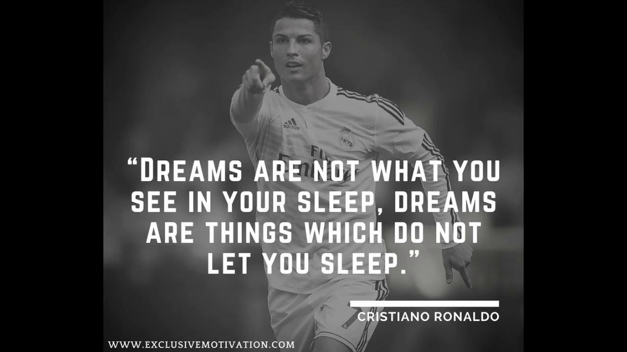 Inspirational Cristiano Ronaldo Quotes - YouTube