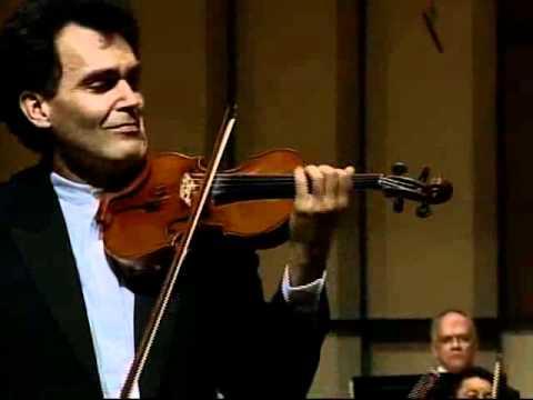 Tchaikovsky Concerto 2nd Mvt - Olivier Charlier and Simon Bolivar Orchestra