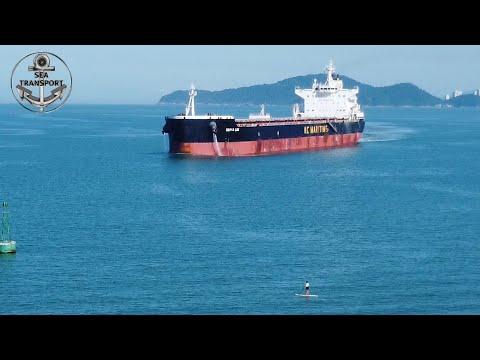 DARYA LOK SANTOS PORT DRONE (gopro test) SHIPSPOTTING, JUNE