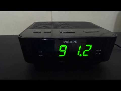 Philips AJ3116  Radio (PLL synthesizer frequency) with clock (Germany)