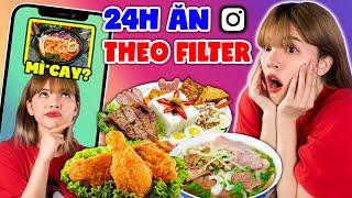 24H EAT RANDS UNDER THE FILTER INSTAGRAM | MELT, CHICKEN, .... | SUNNY TRUONG
