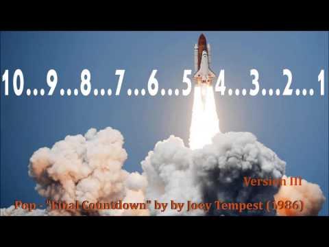 "Pop - ""Final Countdown"" by Joey Tempest (1986) Version III"