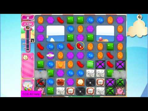 Candy Crush Saga Level 1968 NO BOOSTERS