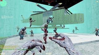 Counter Strike 1.6 - Zombie Escape - Jurassicpark | World War'Z