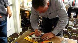 Bob Griese Signs For The SI KING  12-10-11