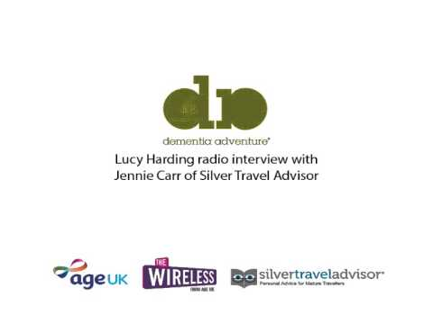 Lucy Harding Radio Interview with Silver Travel Advisor