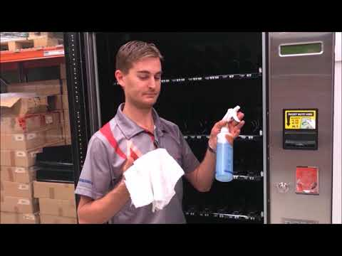 How to Clean an MEI Note Reader on A Sorrento Vending Machine