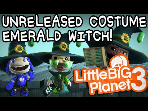 LBP3 Glitch: Unreleased Costume Emerald Witch Giveaway!