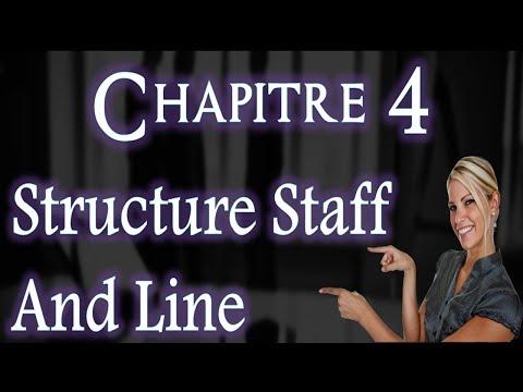 L'entreprise et Son Environnement Chapitre 4 : Structure Staff And Line ( Darija )