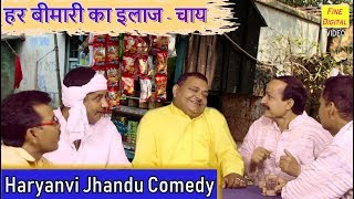 हर बीमारी का इलाज - चाय || Jhandu Comedy || Haryanvi Funny Video