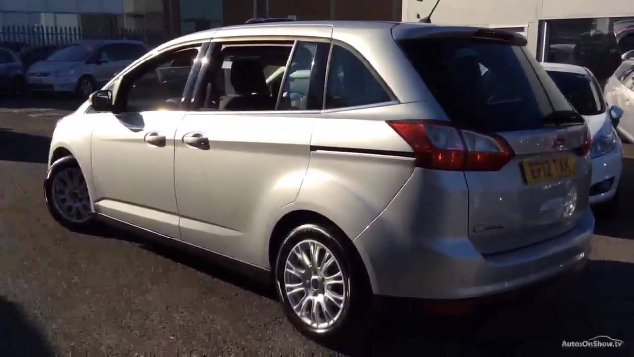 ford c max grand titanium aluminium silver 2012 youtube. Black Bedroom Furniture Sets. Home Design Ideas