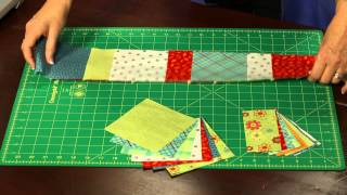 "How To Make Quilting Quickly's ""citrus Charm"" Table Runner: Brighten Up Your Summer Table"