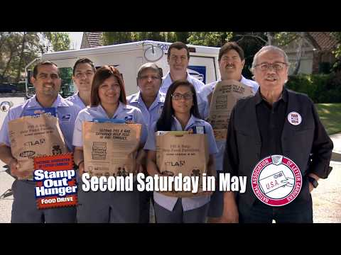 Stamp Out Hunger Food Drive PSA