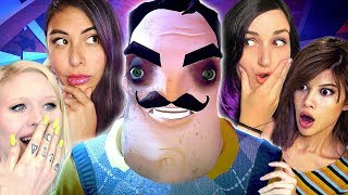 SECRET NEIGHBOR | New Hello Neighbor Multiplayer Game w/ Gloom, Cupquake & Cyber