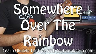 Baixar Somewhere Over The Rainbow - Easy Beginner Ukulele Tutorial - Iz