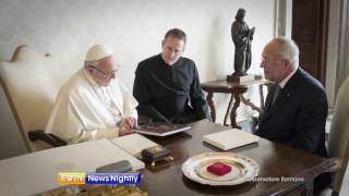 Knights of Columbus Donation to the Pope
