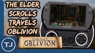 Elder Scrolls Travels Oblivion Running On PSP GO/2000/3000!