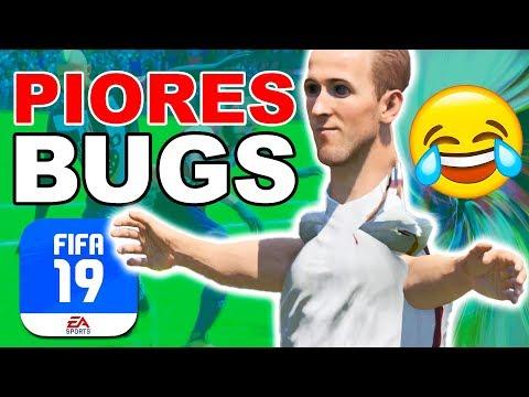 Os PIORES BUGS do FIFA 19 😂