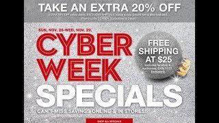 Macy's Cyber Week Deals HOT Offers!