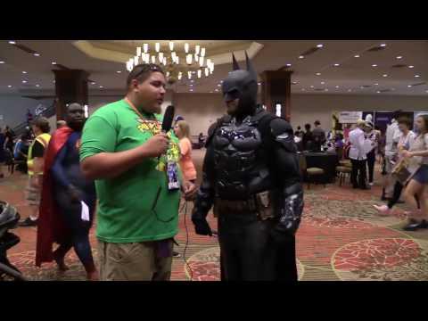 Batman cosplay at Animefest 2016