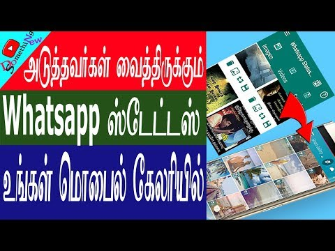 Downloadhow To Save Others Whatsapp Status To My Gallery