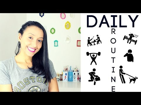 Basic English: How To Talk About Your Daily Routine  - Lesson 24