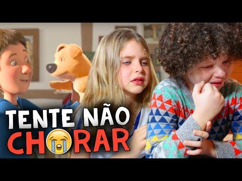 DESAFIO: TENTE NÃO CHORAR - NÃO DEU!! | Try Not to Cry Challenge (ft. Manu)