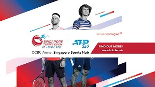 Thai-Son Kwiatkowski 🇺🇸 vs 🇺🇸 Robert Galloway  | ATP 250 Singapore Tennis Open 2021