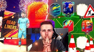 FIFA 20: HEADLINERS Pack Opening / SBC´s + neues WL Team Bauen 😱🔥 thumbnail