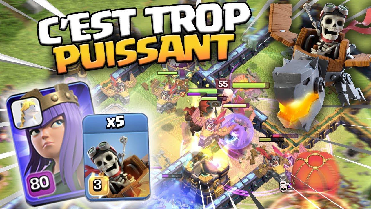 LA TROUPE LA PLUS FORTE DU JEU ?! Clash of Clans