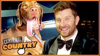 Brett Eldredge Gushes Over Adorable, 'Human-Like' Dog, Edgar Boogie | Certified Country