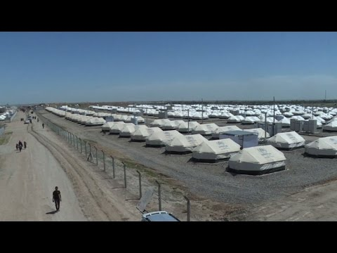 Iraq: new IDP camp shelters people fleeing west Mosul