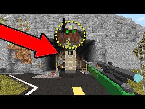 Minecraft - Зомби Апокалипсис 1 серия. Видео из игры