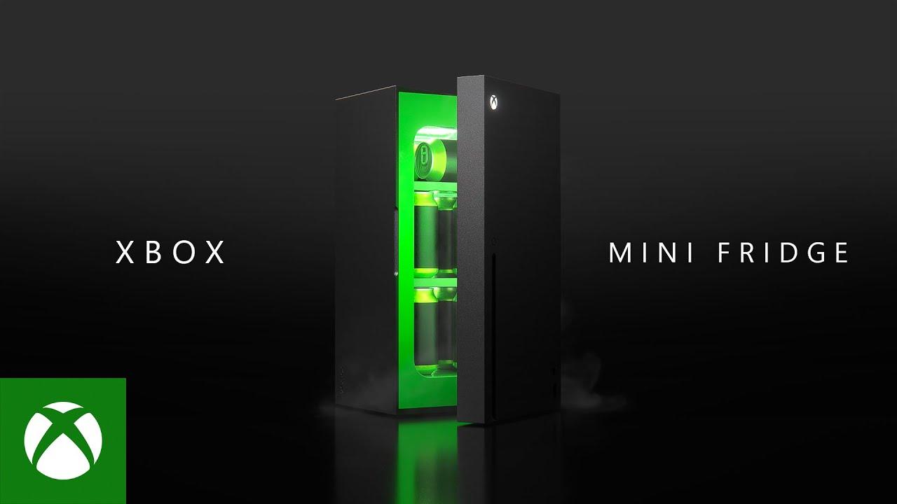 Xbox Mini Fridge World Premiere Youtube