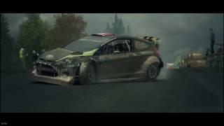 Dirt 3- Ford Fiesta Ken Block. Rally