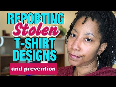 Ugh! T-Shirt Theft & How to Report Thieves on Merch By Amazon & Others