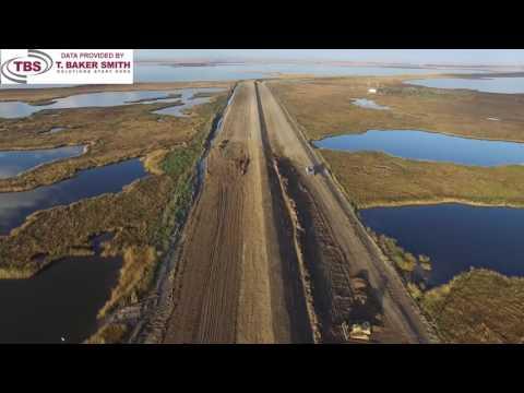 T. Baker Smith UAV Levee Spotlight