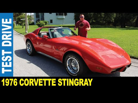 1976 Chevrolet Corvette Stingray L82 red 5.7L V8 stick shift | Jarek in New Port Richey Florida USA