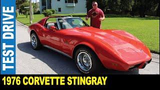 1976 Chevrolet Corvette Stingray L82 5.7L V8 stick shift driven by Jarek New Port Richey Florida USA