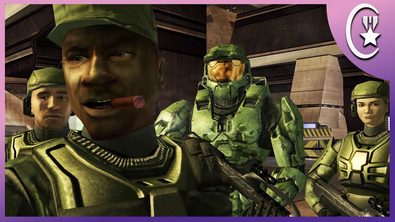 Johnson's Call Me Cupid Scene | Halo Story Archive