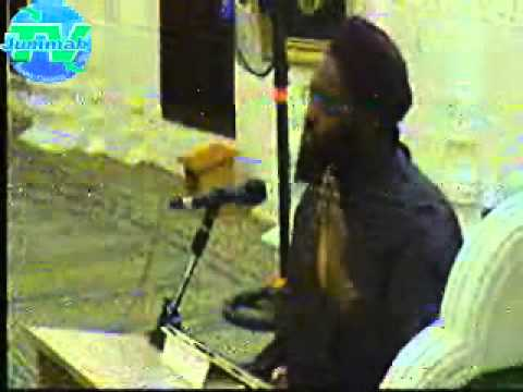 Hafiz O Qari Ali Faqi Ali Noorani 4th Rabi Ul Aakhir 1436 25.01.15 @ Jummah Masjid