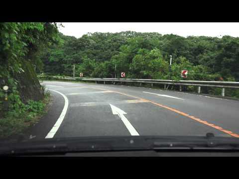4K 上林峠への道 愛媛県道209号...