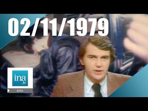20h Antenne 2 du 02 novembre 1979 : Jacques Mesrine est mort | Archive INA