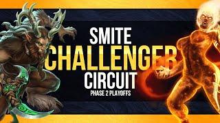 SMITE Phase 2 Cir¢uit Playoffs: Day 1