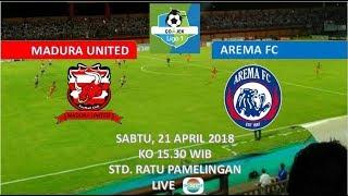 Download Video jadwal LIVE Madura United vs Arema FC (21 April 2018) MP3 3GP MP4