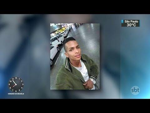 Suspeito rendido é morto por policial militar em Guarulhos | SBT Brasil (19/10/17)