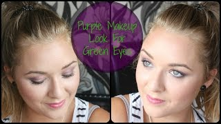 Purple look for green eyes | Eskay Beauty Thumbnail