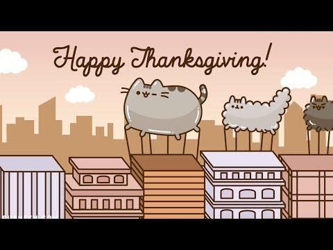 Pusheen: Happy Thanksgiving 2019