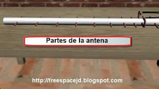 Antena yagi para mejorar recepción de modem 3G 14 dbi de ganancia